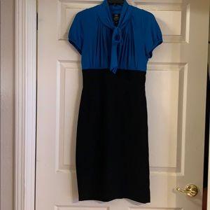 EUC Suze Chin Midi Dress Size 6